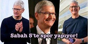 Milyarderler Günlerini Nasıl Geçiriyor? Apple'ın CEO'su Tim Cook'un Günlük Rutini