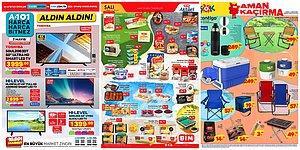 Online Alışveriş Devam Ediyor: A101, BİM ve ŞOK Aktüel Ürünler Listesinde Bu Hafta Neler Var?