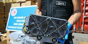 Değeri 5 Milyon TL: İzmir'de 501 Kripto Para Üretim Makinesine El Konuldu
