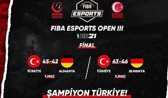 Türkiye, FIBA Esports Open III Finalinde Almanya'yı Yenerek Şampiyon Oldu!