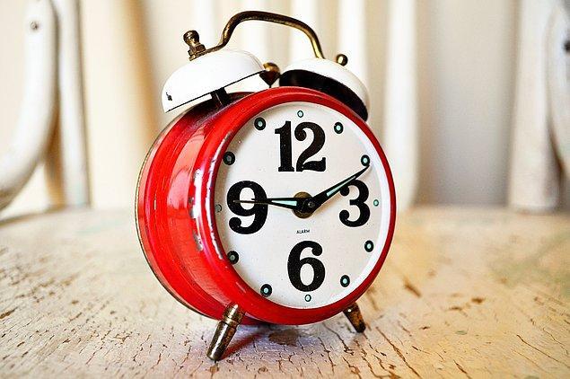 6. Alarm kurabilirsiniz.