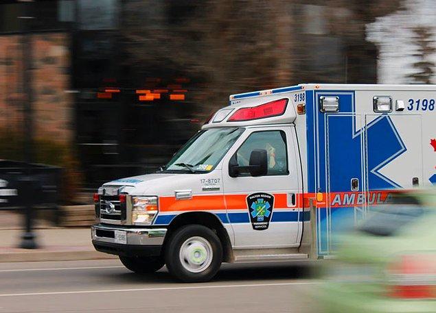 """7. """"Ambulansa binmek ücretli, diğer ülkelerdeki insanlar bunu duyunca şoka uğruyor."""""""