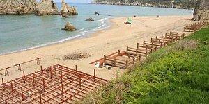 Çevre Bilinci Desen Var(!) Kumsala Loca Kondurup Foseptik Çukurları Açtılar