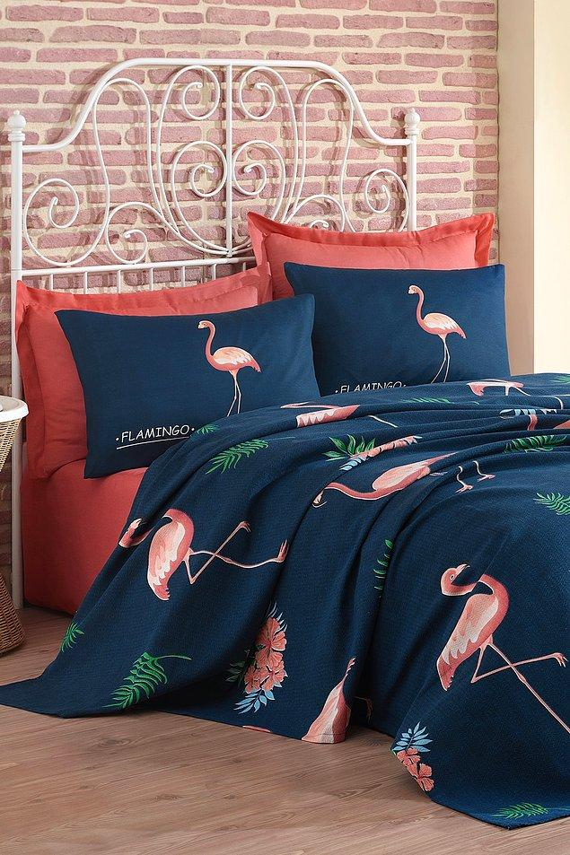 7. Flamingo deseni görmeye başladıysanız yaz geldi demektir...
