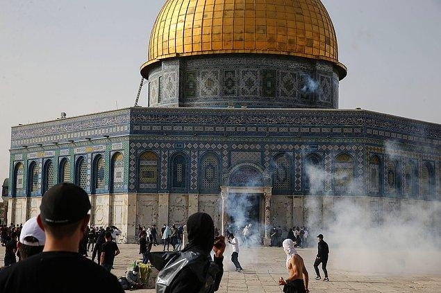 Üç dinin kutsal şehri Kudüs