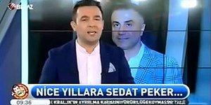 Beyaz TV Ekranlarından Sedat Peker'in Doğum Günü Kutlanmış...