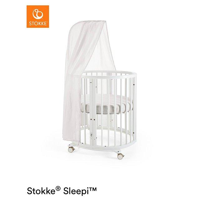 2. Kendine özgü oval şekli ile sıcak yuva gibi bir ortam yaratarak, bebeğinizin güvende hissetmesini sağlayan her yere sığabilen bir yatak.