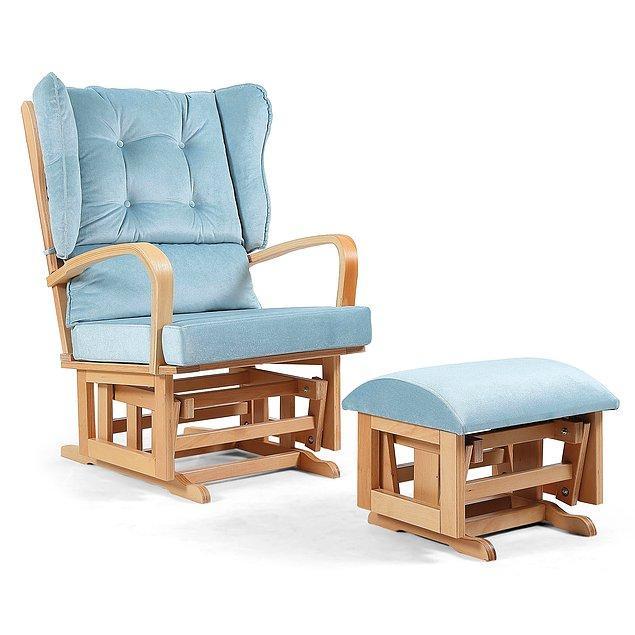 3. Şöyle konforlu bir emzirme koltuğu da, hem sizi rahat ettirecek hem de odayı renklendirecek...