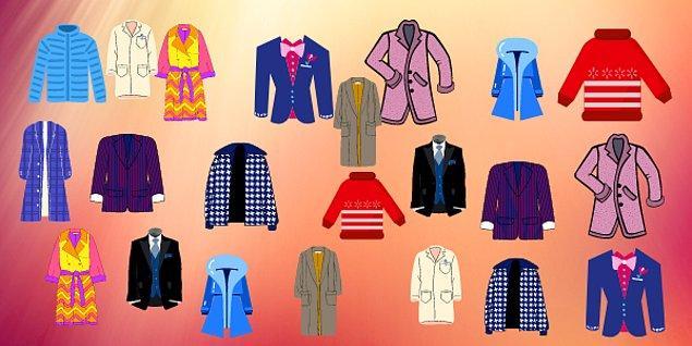 3. Hangi kıyafet tek?