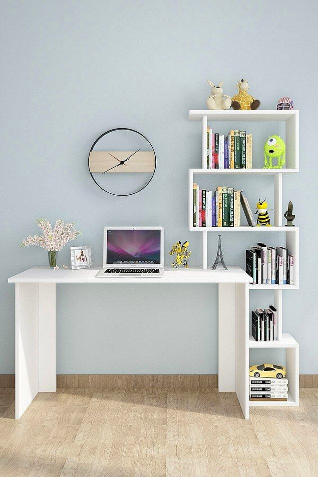 13. Çalışma masası ihtiyacında olanlar bu masaya bir bakmalı.