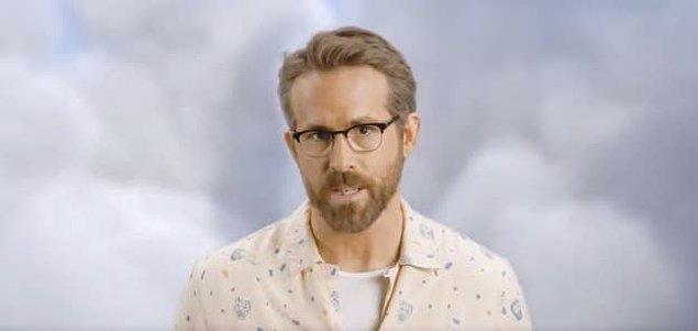 Reynolds bu reklamda içip içip kimseye yazılmaması gerektiği ile ilgili tavsiyelerde bulundu. 😂