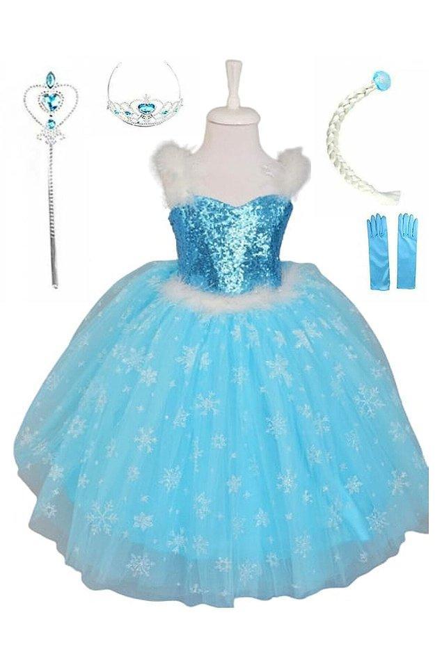 1. Çünkü her küçük kız bir günlüğüne de olsa Elsa olmak ister...