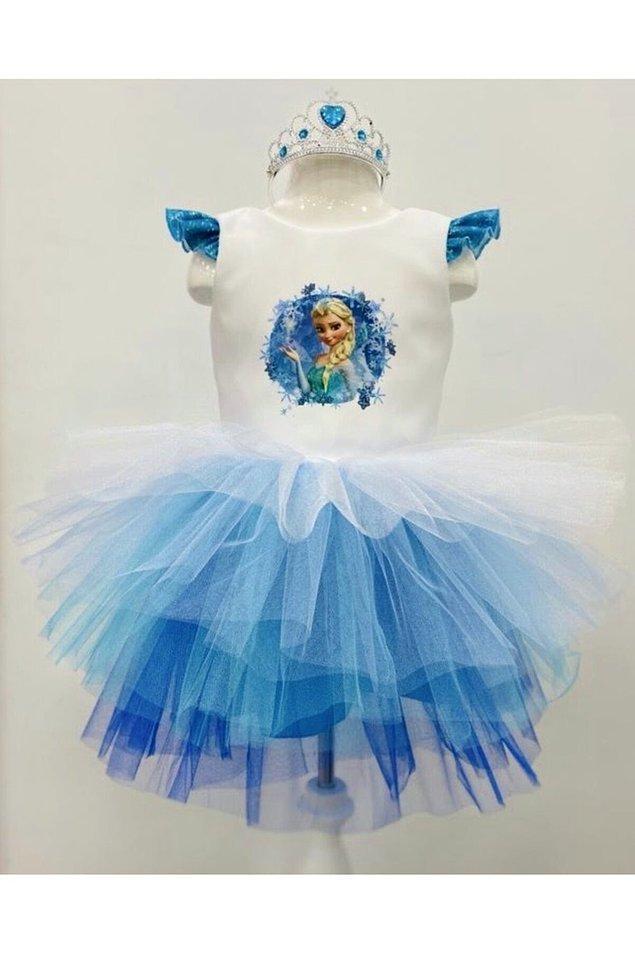 2. Günlük giymek için de bir Elsa kıyafeti şart...