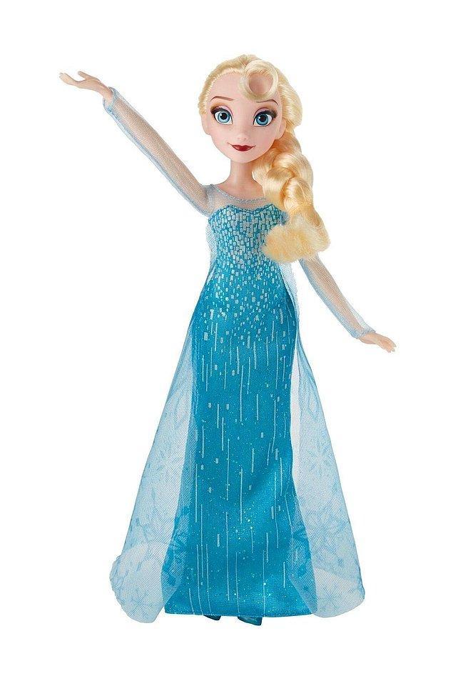 5. Bizim Elsa'yı ilk tanıdığımız halinin bebeği...
