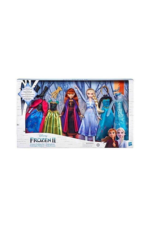 7. Elsa, Anna ve bir sürü kıyafet ve aksesuar... Muhteşem bir set!