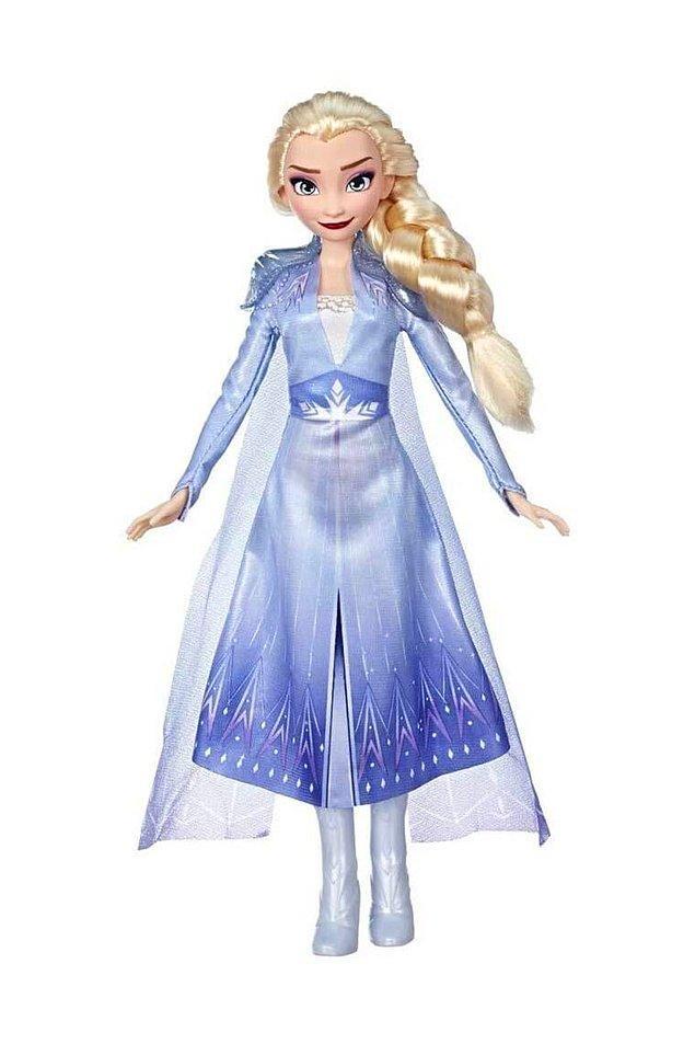6. Bu da Frozen 2 filminden sonra çıkan Elsa bebeği...