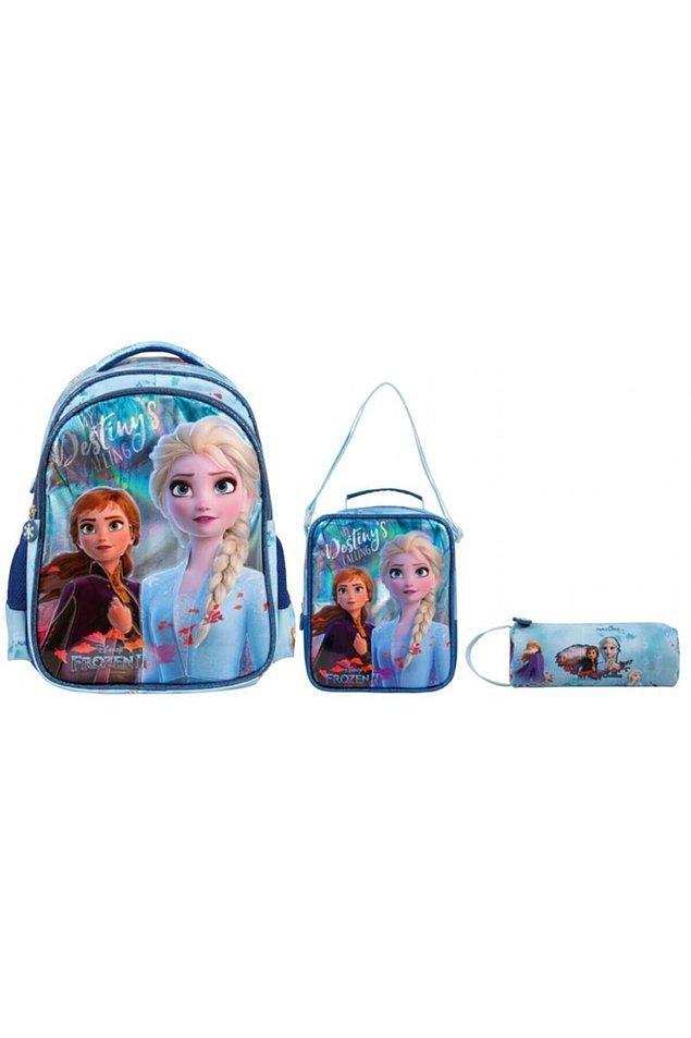 13. Bu üçlü çanta seti de ilkokul çağındaki çocuklar için çok güzel bir seçenek...