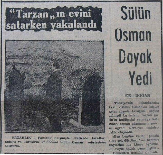 Bir hacıya cennetten arsa sattığı da olmuş, İstanbul Üniversitesi'nin bahçesini de.