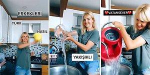 Türk Erkeklerinin Özelliklerini Sayarken Tükettiği Su ile Can Sıkan TikToker