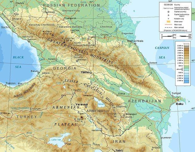 Senin kökenin Kafkasya'dan geliyor!