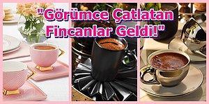 Herkesi Kıskandıracak 21 Güzel Türk Kahvesi Fincan Takımı