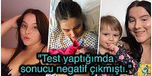 Karın Ağrısıyla Gittiği Hastanede Hamilelikle İlgili Belirti Göstermemesine Rağmen Doğum Yapan Kadın