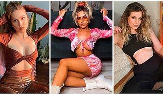 İlk Olarak Bikinilerde Başlayan Abartılı ve Riskli Göğüs Dekoltesi Trendi Şimdi Kıyafetlere de Sıçrıyor