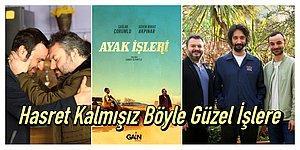 """Çağlar Çorumlu ve Güven Murat Akpınar'ın Başrollerini Paylaştığı Bir Garip Komedi Dizisi: """"Ayak İşleri"""""""