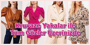 Giydiğinizde Herkesi Size Hayran Bırakacak Birbirinden Güzel 22 Kruvaze Yaka Model