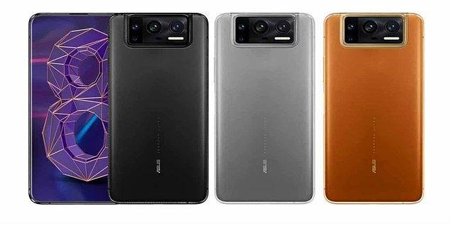 ZenFone 8' in renk seçenekleri arasında Obsidian Black ve Horizon Silver bulunuyor. Flip modelindeyse Glacier Silver ve Galactic Black renk seçenekleri mevcut.