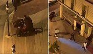 Sokağa Çıkma Yasağını İhlal Ettiği İddia Edilen Genci Yere Yatırarak Vuran Bekçilerin Tepki Çeken Görüntüleri