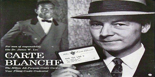 'Charge-it' adlı banka kartının kullanım alanı çok darmış, sadece yerel dükkanlarda kullanılabilirmiş. Bu yüzden 1949 yılında Ralph Schneider ve Frank McNamara, ücret kartı şirketi olan Dinners Club'ı kurmuş.