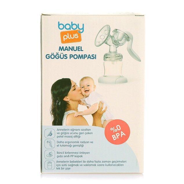 11. Manuel pompa olarak son önerim ise Baby Plus.