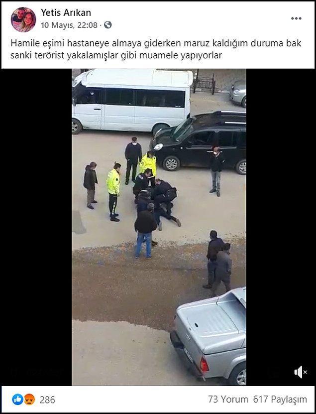Görüntüleri Facebook hesabından paylaşan Arıkan, AKP'li Milletvekili Metin Gündoğdu tarafından arandığını da yazdı. 👇