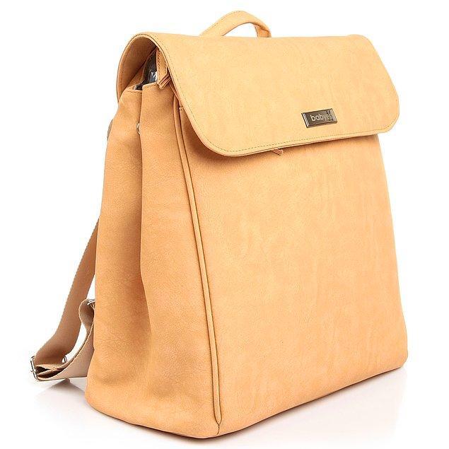 1. Bebek çantası alırken tarzından ödün vermek istemeyen annelerin tercihi... Üstelik silinebilir kumaşa sahip ve çok hafif.