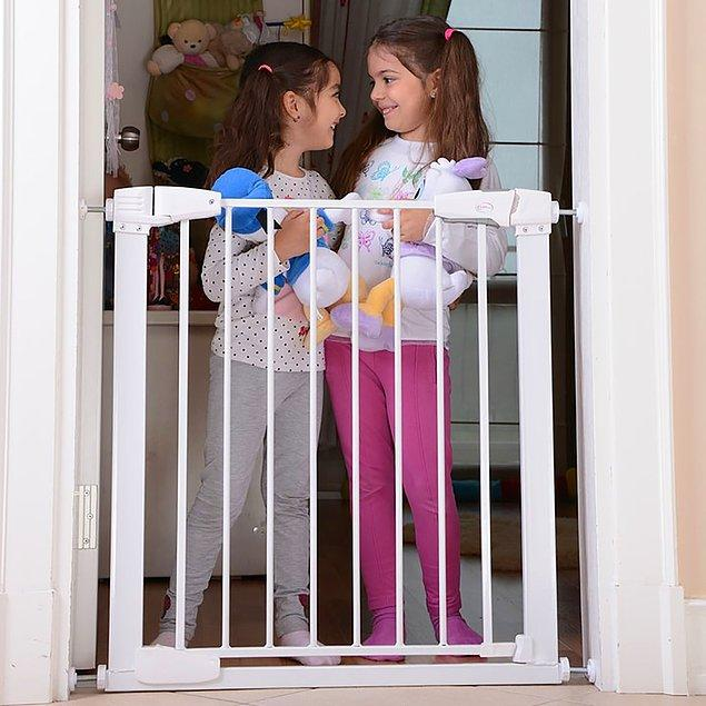 3. Otomatik kapanan güvenlik kapıları, merdivenli evlerde büyük kolaylık.
