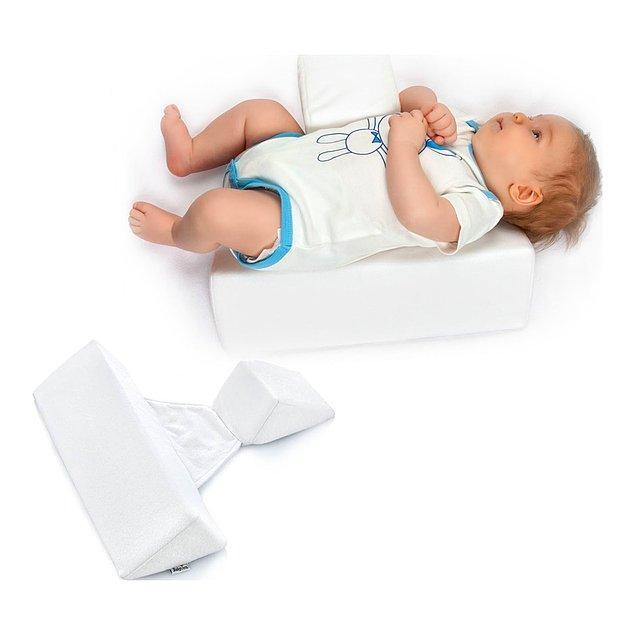 7. Bebeğinizin güvenli ve rahat uyumasını sağlayan güvenli uyku yastığı.