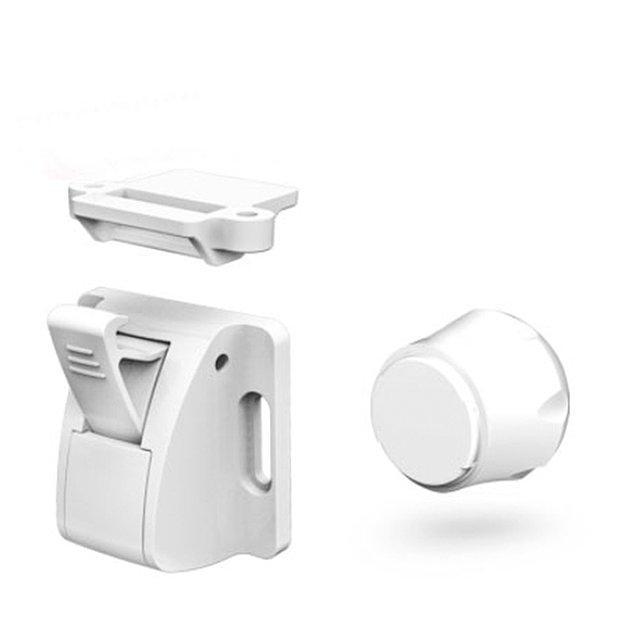 9. Tüm mobilya kapak ve çekmecelerinde kullanabileceğiniz bir manyetik güvenlik kilidi.