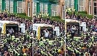 İskoçyalılar Ramazan Bayramı'nda 2 Müslüman Mültecinin Sınır Dışı Edilmesini Aracın Önüne Yatarak Engellediler