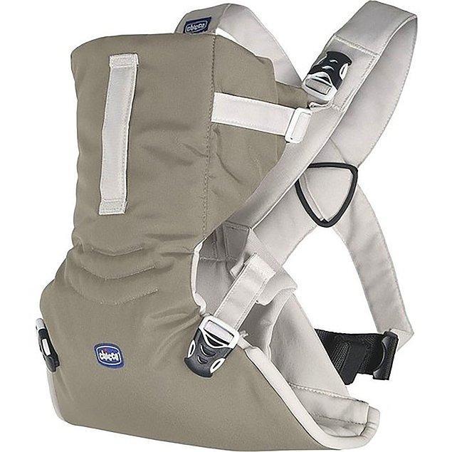 10. Ebeveynlerin hayatını kolaylaştıran bir diğer ürün de kanguru-slingler.