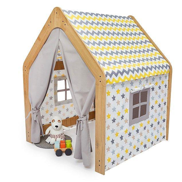 7. Çadır kesmezse ev de var :)