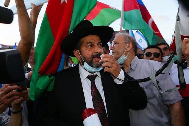 """""""Dünyada Yahudilerin belki de İsrail'den sonra korkmadan ben Yahudiyim dediği ikinci ülke Azerbaycan'dır."""" bu iddianın sahibi ise Azerbaycanlı öğretim üyesi Murad Salmanov."""