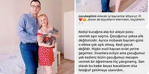 Instagram Hesabında Aile Fotoğrafını Paylaşan Öğretmenin Aldığı Çirkin Mesaj ve Ders Niteliğindeki Cevabı