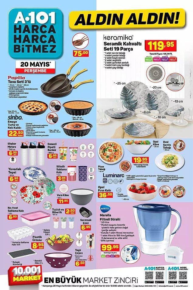 Mutfak gereçleri kataloğu;