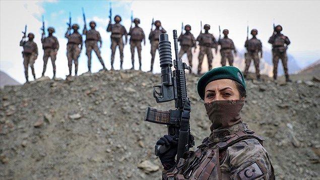 Endekste Türk ordusunun mevcut insan gücü 41 milyon 874 bin 832, askeri hizmete hazır olanların sayısı 35 milyon 174 bin 859, aktif personel sayısı 355 bin şeklinde bildirildi.