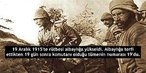 19 Maddede Mustafa Kemal Atatürk ve 19 Sayısıyla Olan İlginç Tesadüfleri