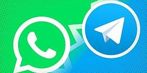 Telegram'ın Yaptığı Laf Sokmalı Paylaşım Sonrası Whatsapp da Sessiz Kalamayıp Cevap Verdi!