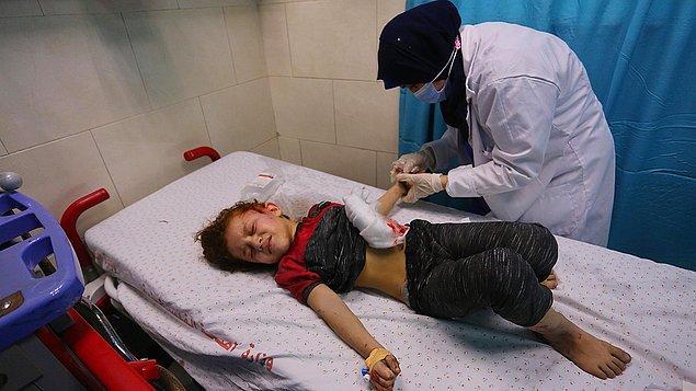 Gazze'de ölenlerin sayısı 139'a yükseldi
