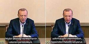 İyi Parti, Erdoğan'ın 'Helallik' Videosuna Alt Yazı Ekledi: 'Utanmadan Hepsinden Helallik İstiyoruz'