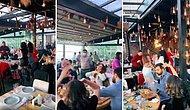 Bu Yasaklar Kime Yasak? İstanbul'da Hıncahınç Dolu Bir Mekanda Makarina Şarkısı Eşliğinde Eğlenen İnsanlar
